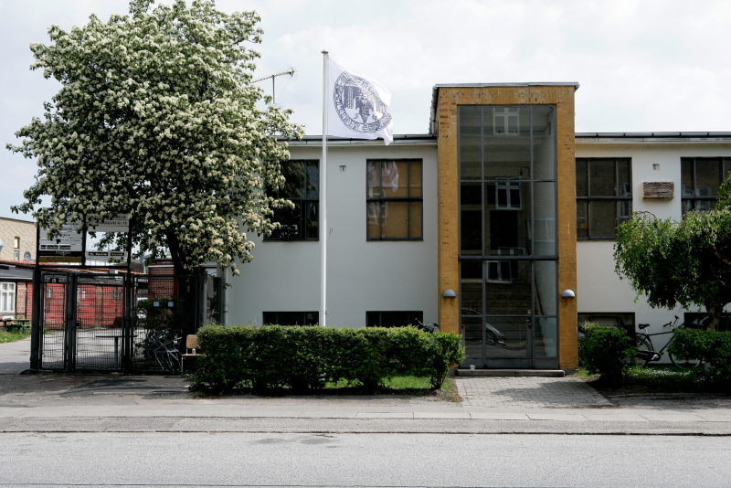 Friedlos (aka The Bandit Wolf-Man), installation view from Beaver Projects, Cph, DK
