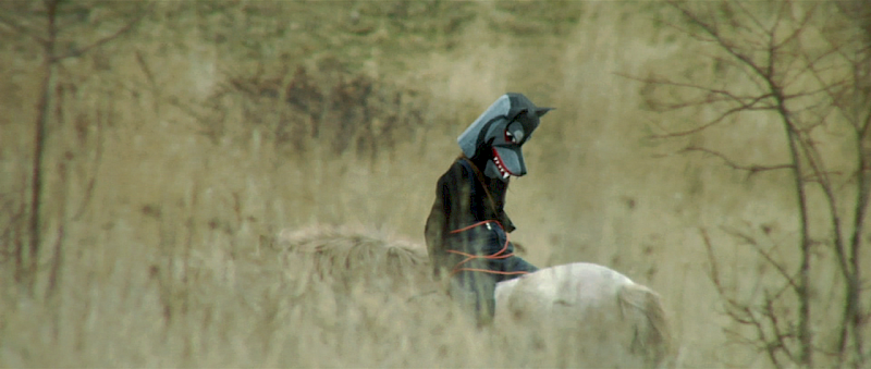 Friedlos (aka The Bandit Wolf-Man), Still from video