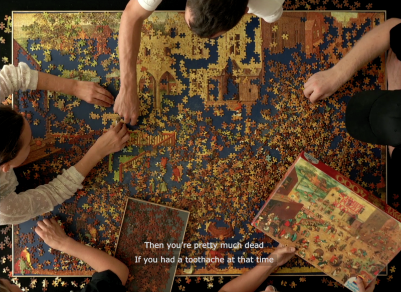 Children's Games (Puzzled), Still from video